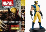 Marvel Fact Files Wolverine Special With Figurine Eaglemoss